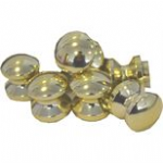 Small Polished Brass Knob (1)